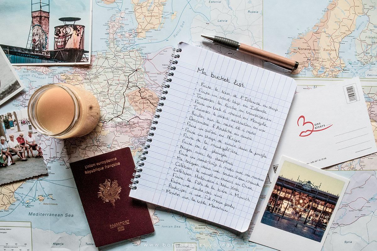Bucket list voyage