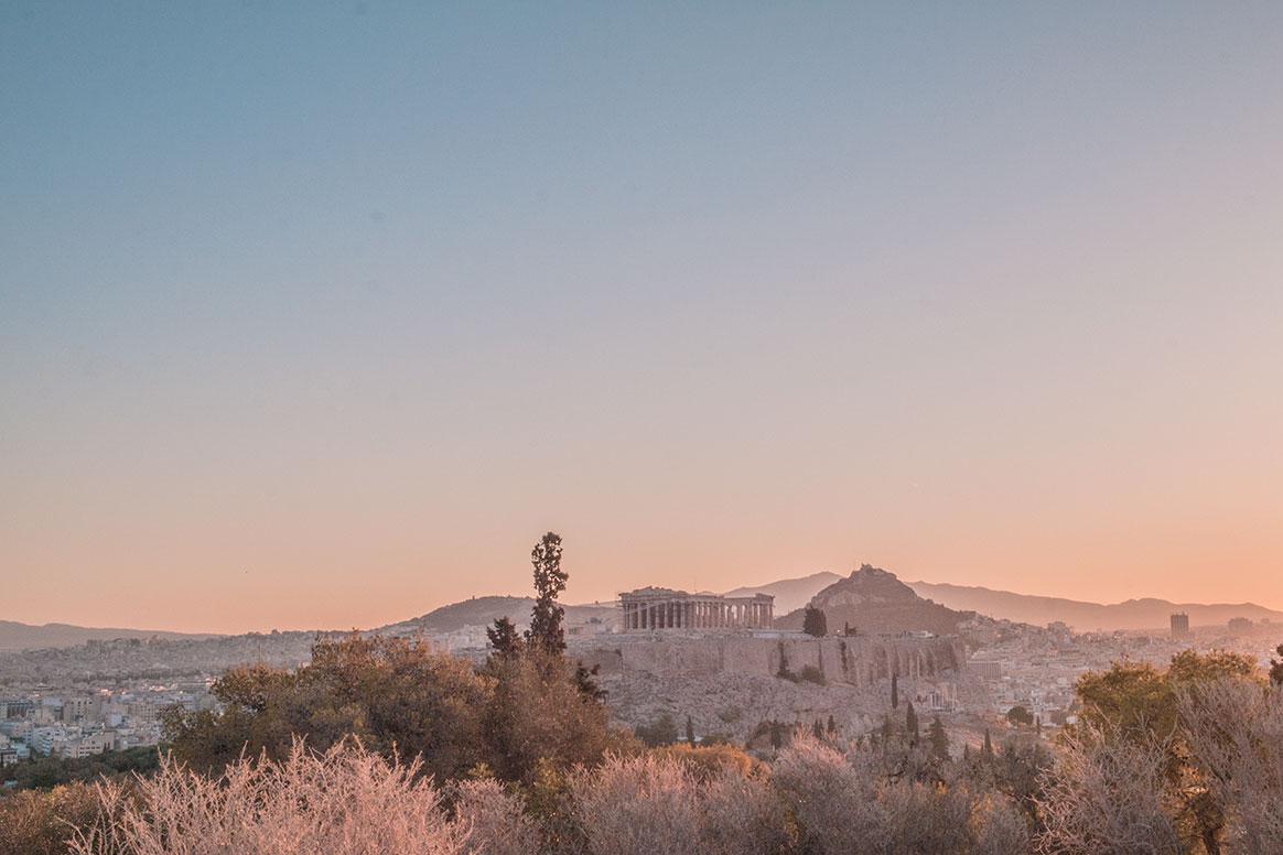 Athènes : quand le soleil se lève pour nous