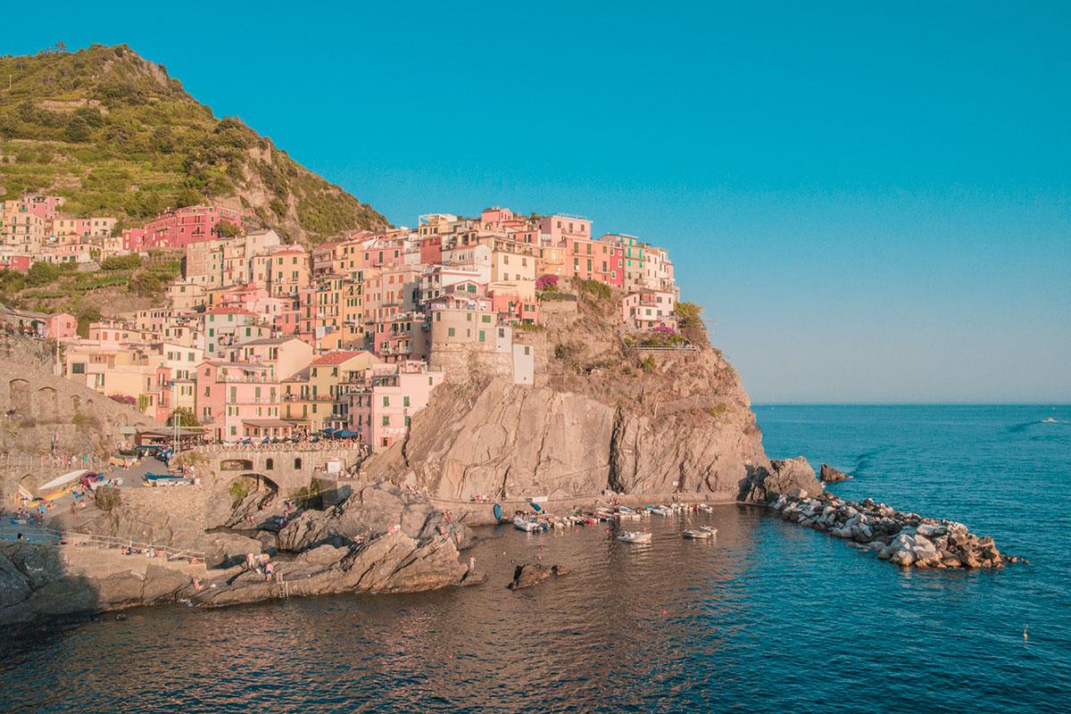 Visiter l'Italie cinque terre