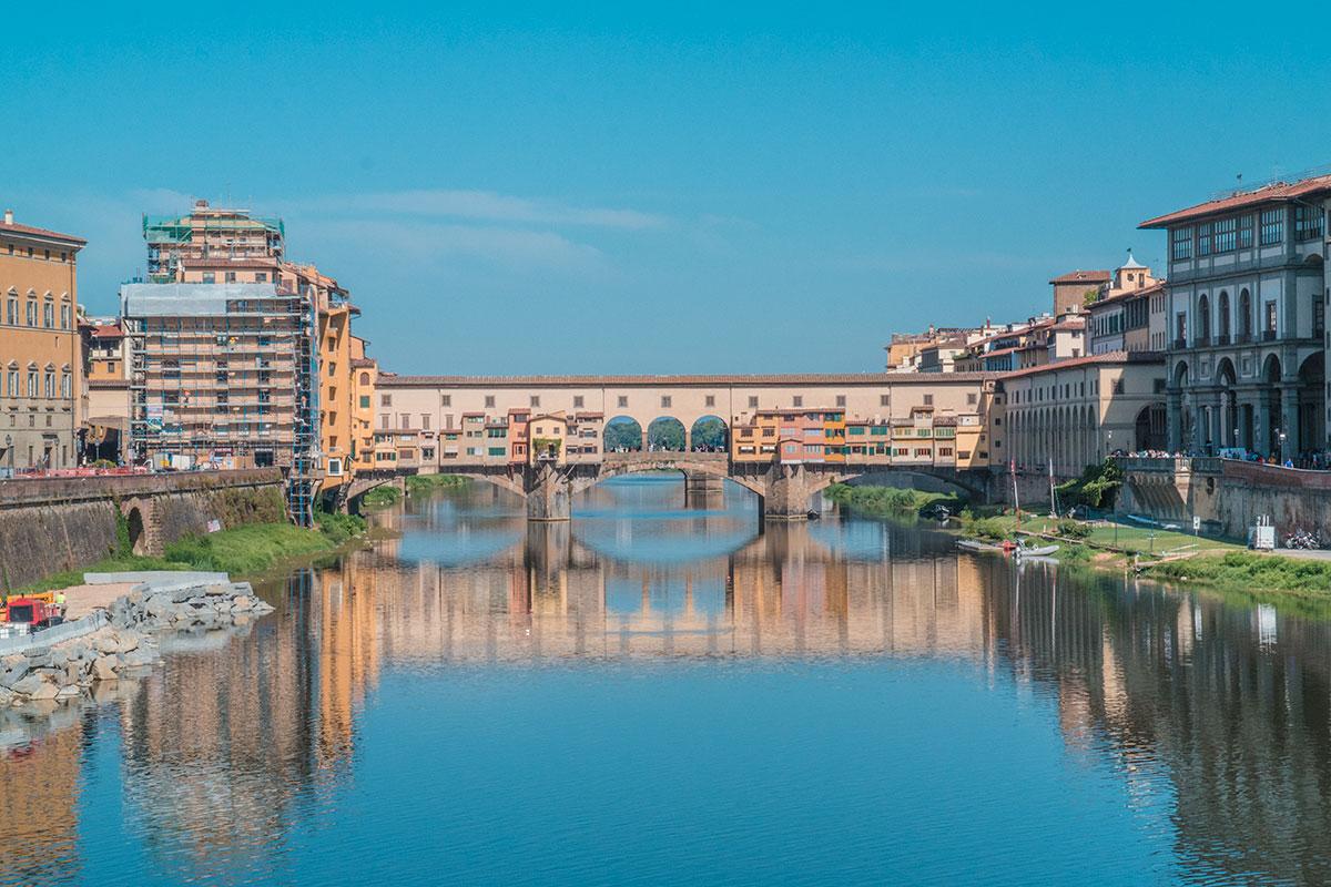 Visiter l'Italie Florence ponte vecchio