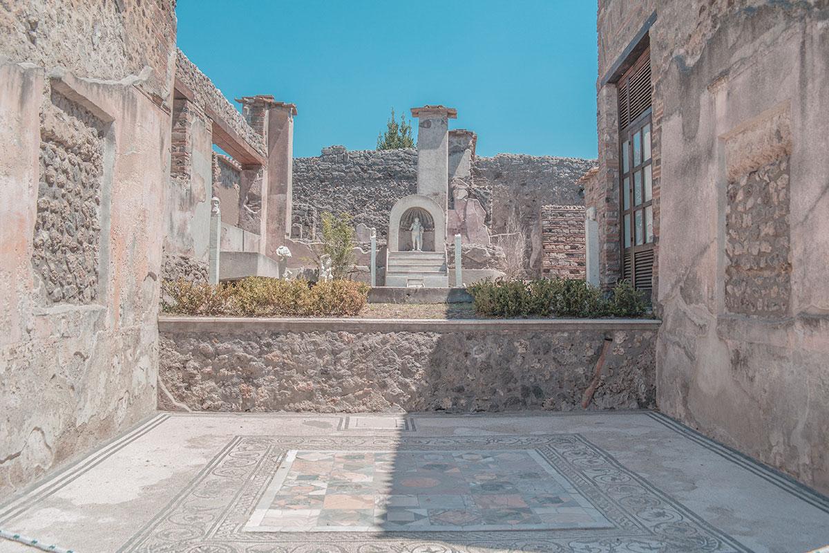 Visiter l'Italie Pompei