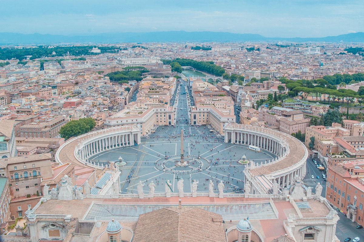 Visiter l'Italie Rome Vatican