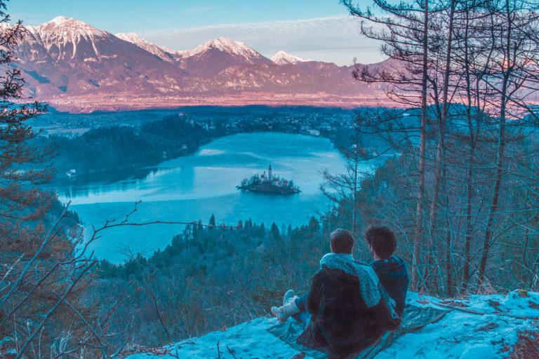 Meilleure vue lac de Bled Slovénie