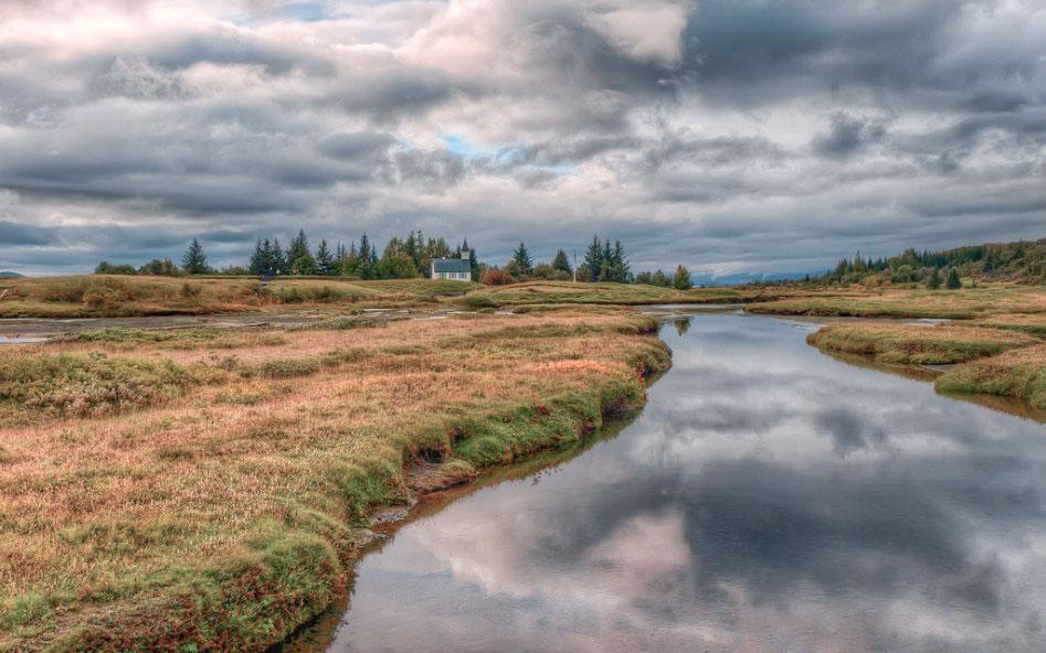 Islande en stop Thingvellir