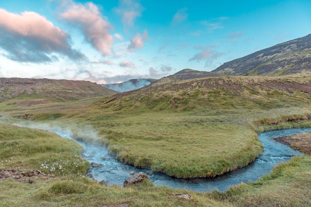 Islande en stop Hveragerdi