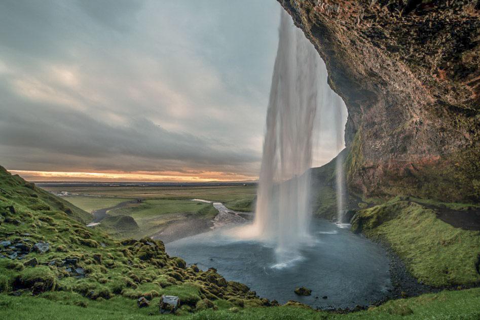 Islande en stop Seljalandfoss