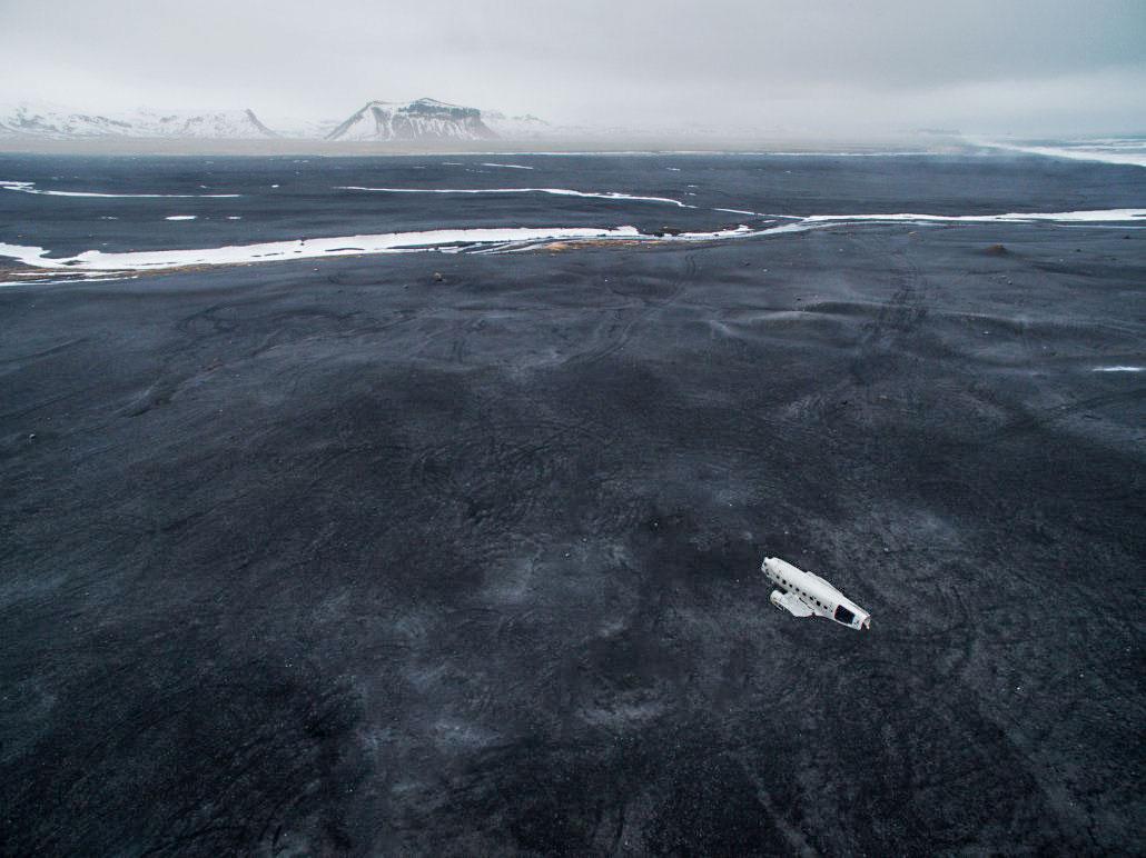 Islande en stop avion DC3