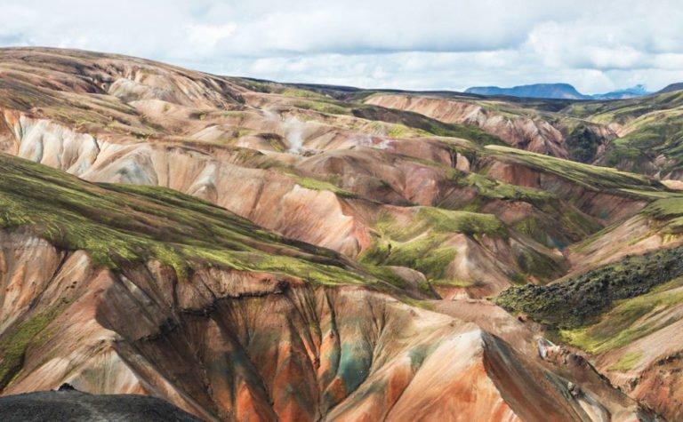Trel du Laugavegur en Islande