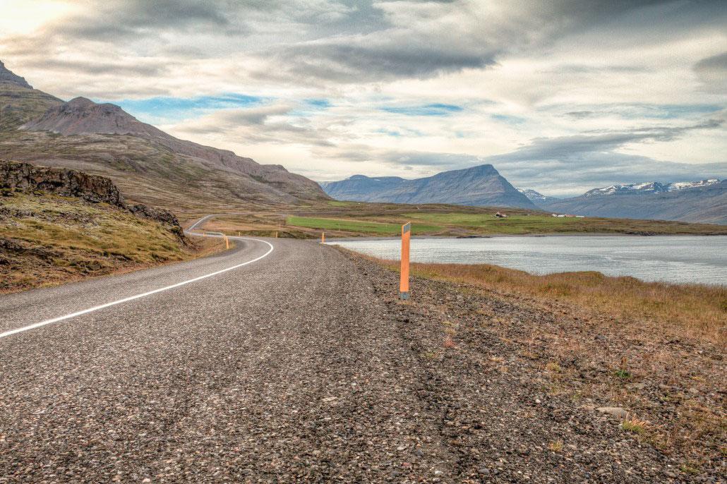 Islande en stop fjors Est