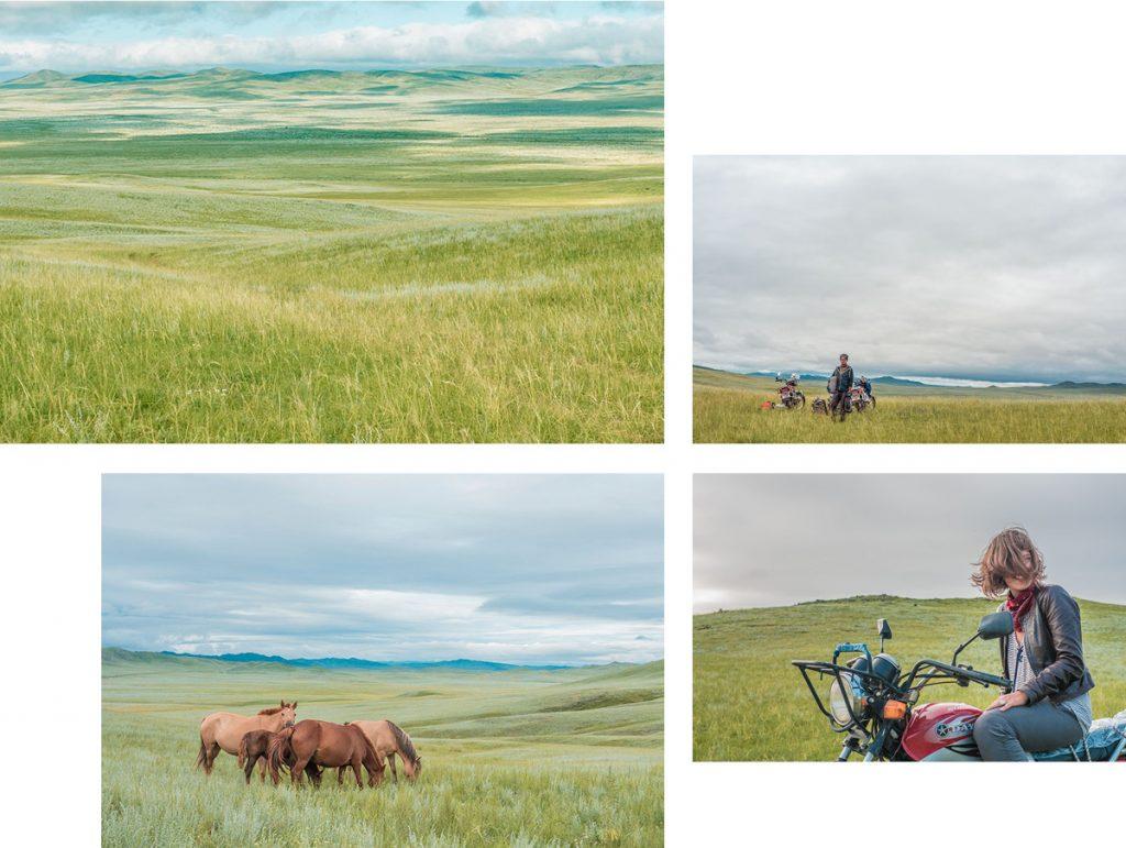 Voyage en Mongolie à moto