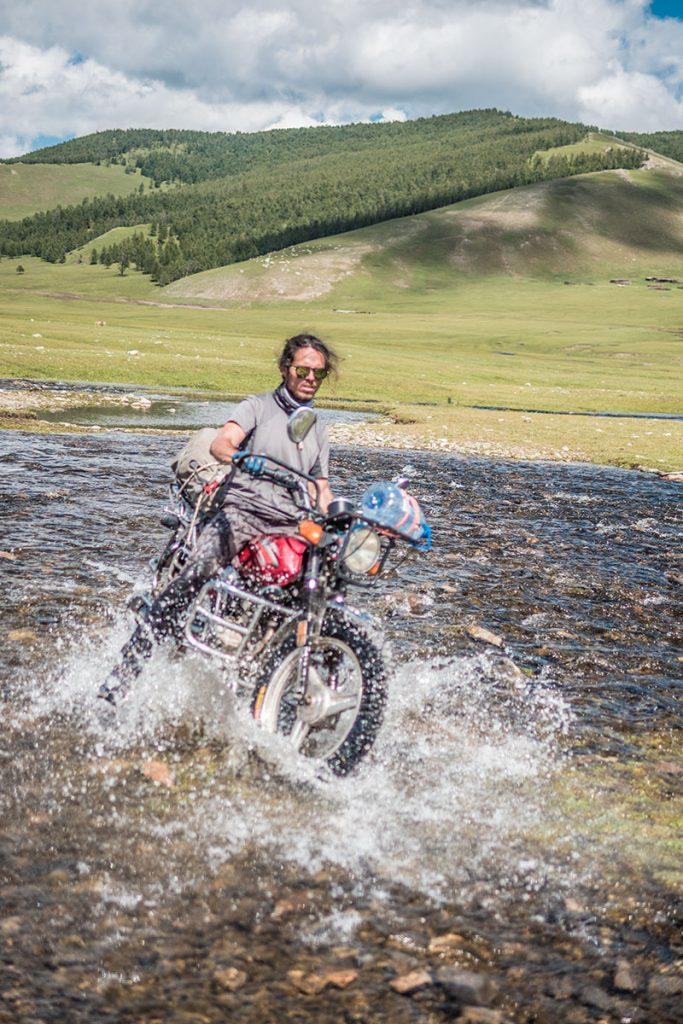 Mongolie à moto