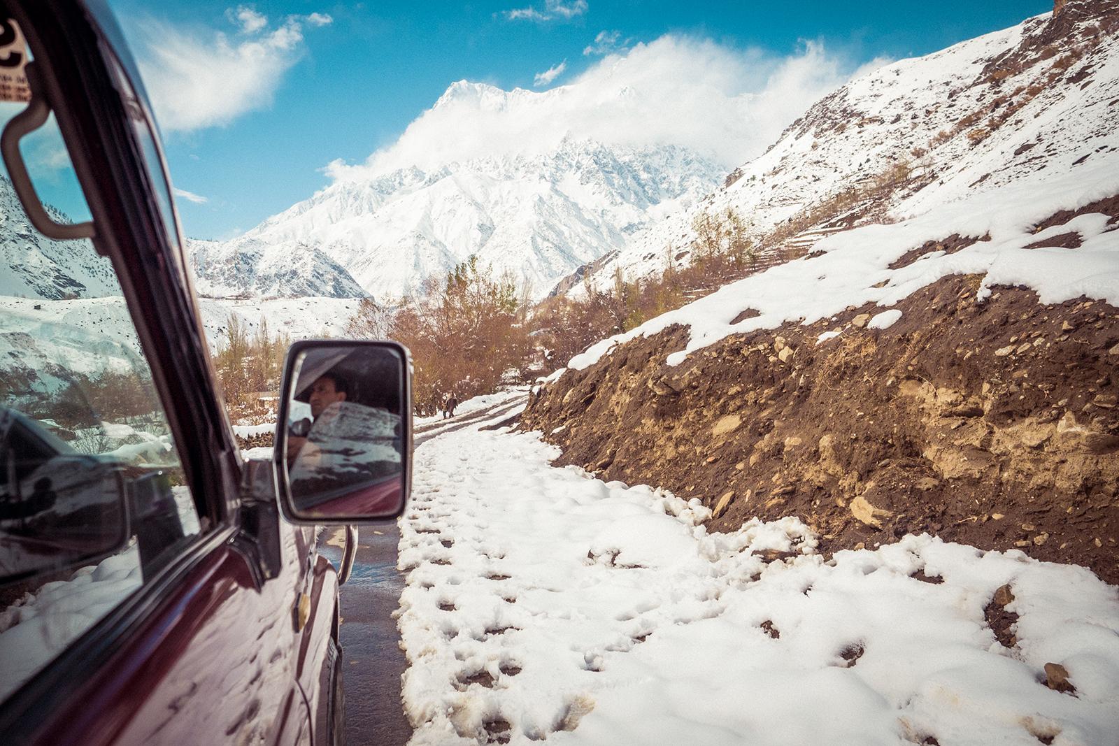Itinéraire d'un road trip au Nord du Pakistan