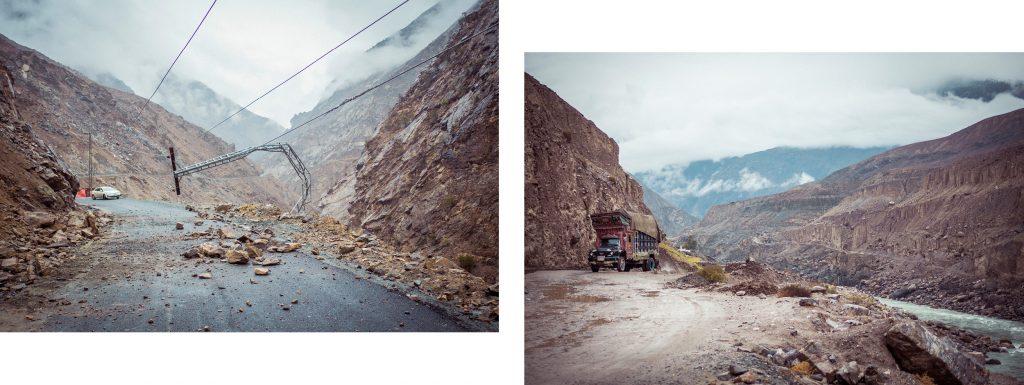 Route au Nord du Pakistan